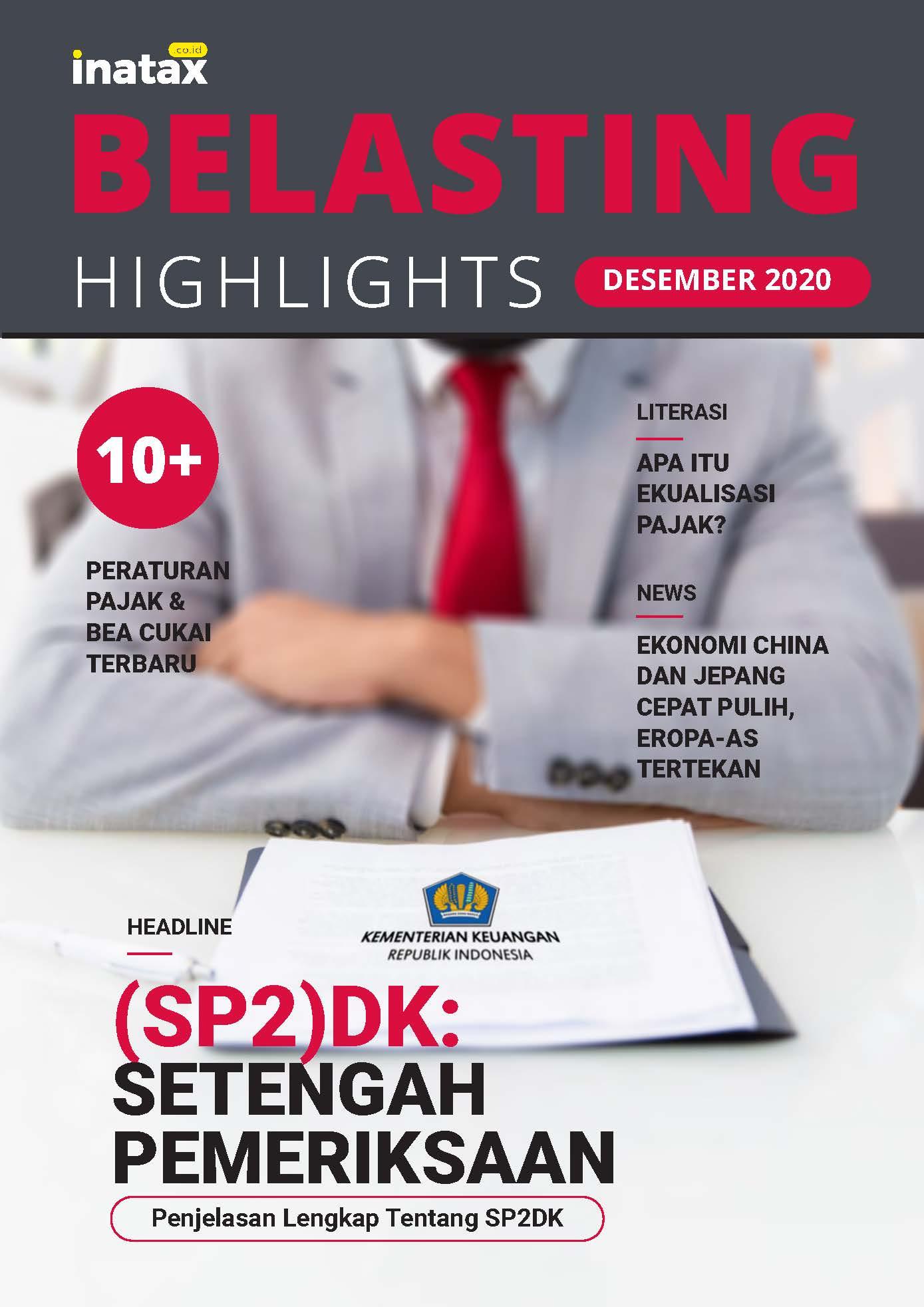 Belasting Highlight Edisi Desember 2020