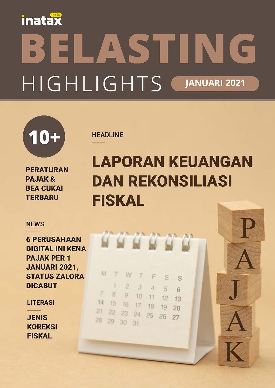 Belasting Highlight Edisi Januari 2021